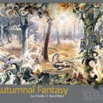 Autumnal Fantasy Puzzle Box Top