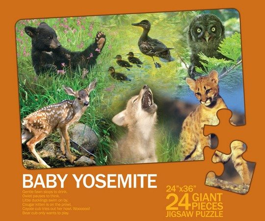 Baby Yosemite Childrens Puzzle Box Top