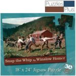 Snap The Whip - by Winslow Homer