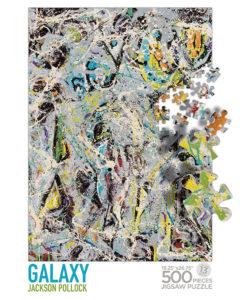 Pollock Galaxy Puzzle Box