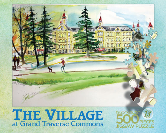 The Village at Grand Traverse Commons Puzzle Box Top