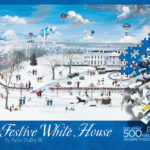 The Festive White House puzzle box