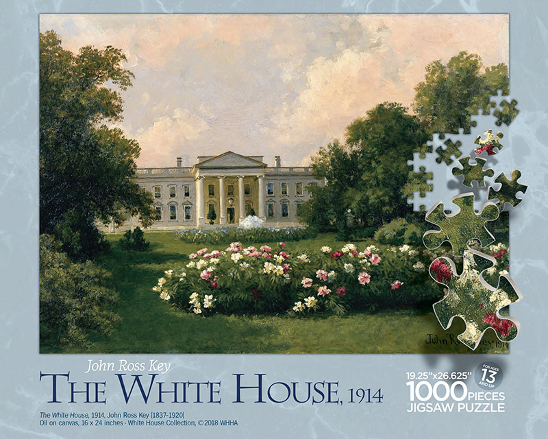 White House 1914 Puzzle Box Top