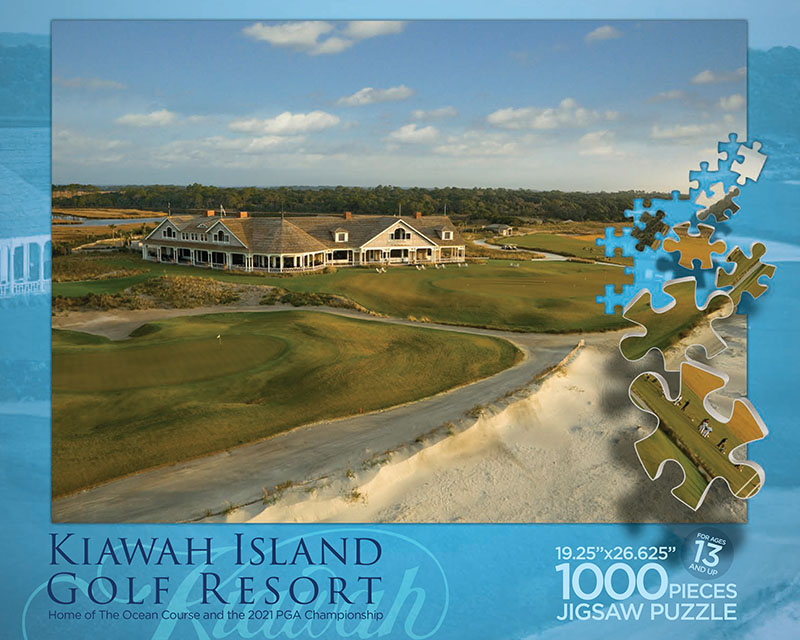 Resort at Kiawah Island Puzzle Box Top
