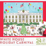 White House Holiday Carnival Puzzle Box Top