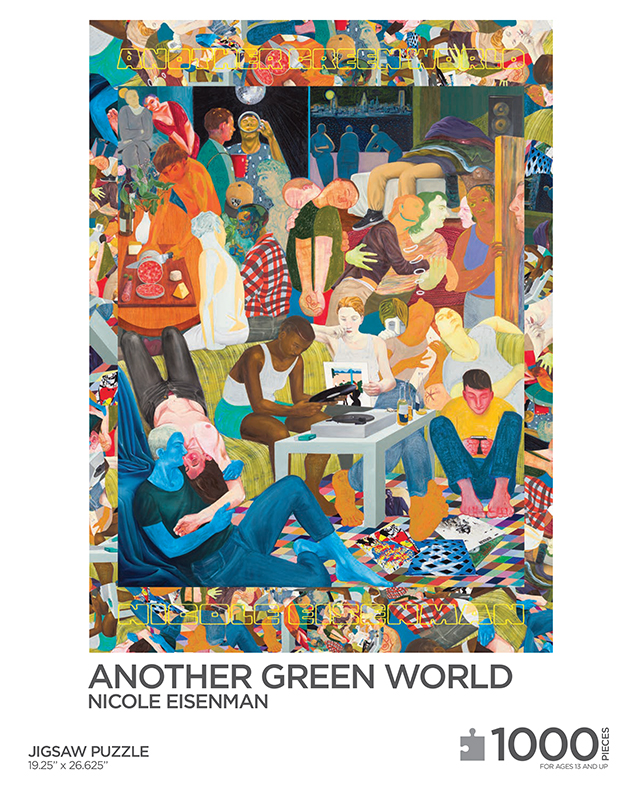 Another Green World - puzzle box top