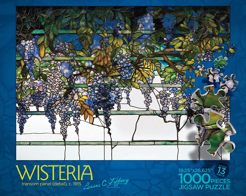 Wisteria - puzzle box top